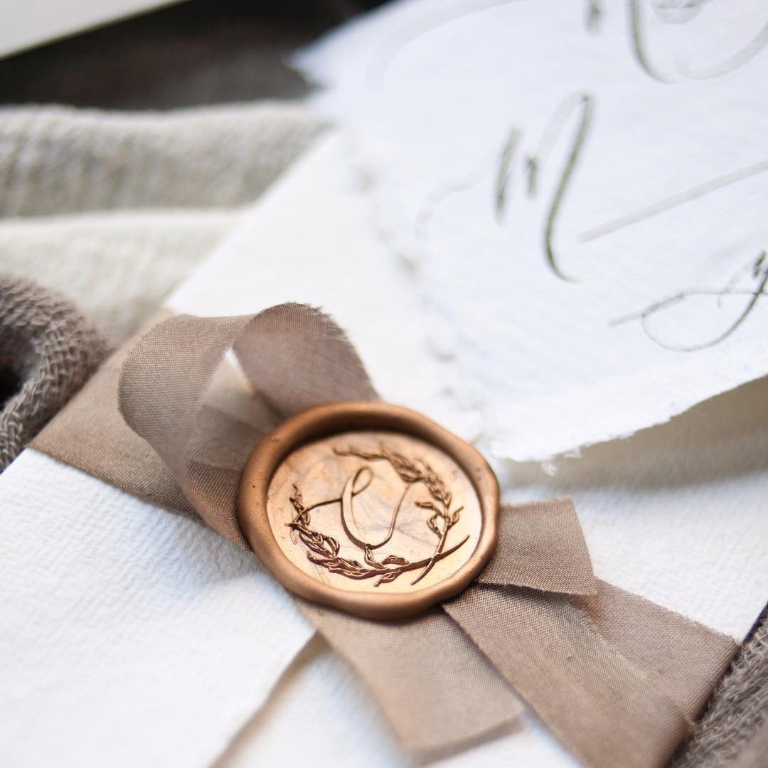 Wax Seal Initial - Stamp Only - Special Order