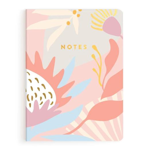 Fox and Fallow Kangaroo Paw Notebook