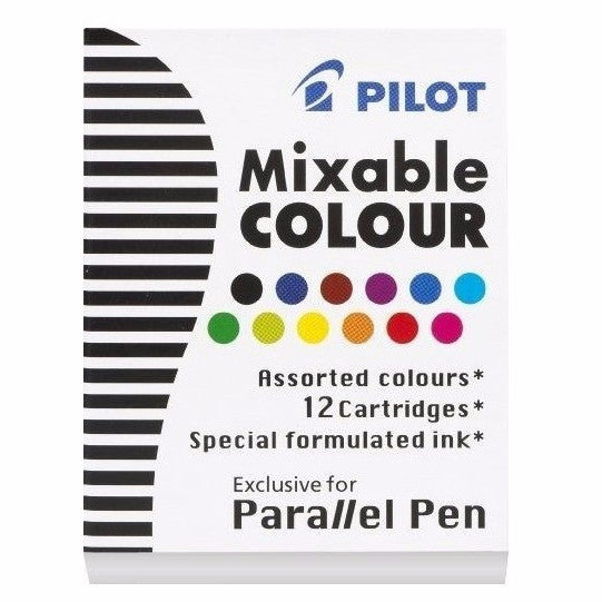 Pilot Parallel Mixable Colour Cartridges - Assorted Pack