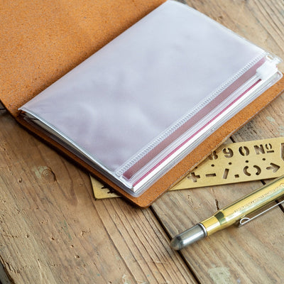 Traveler's Notebook 004 Refill Zipper Pocket - Passport