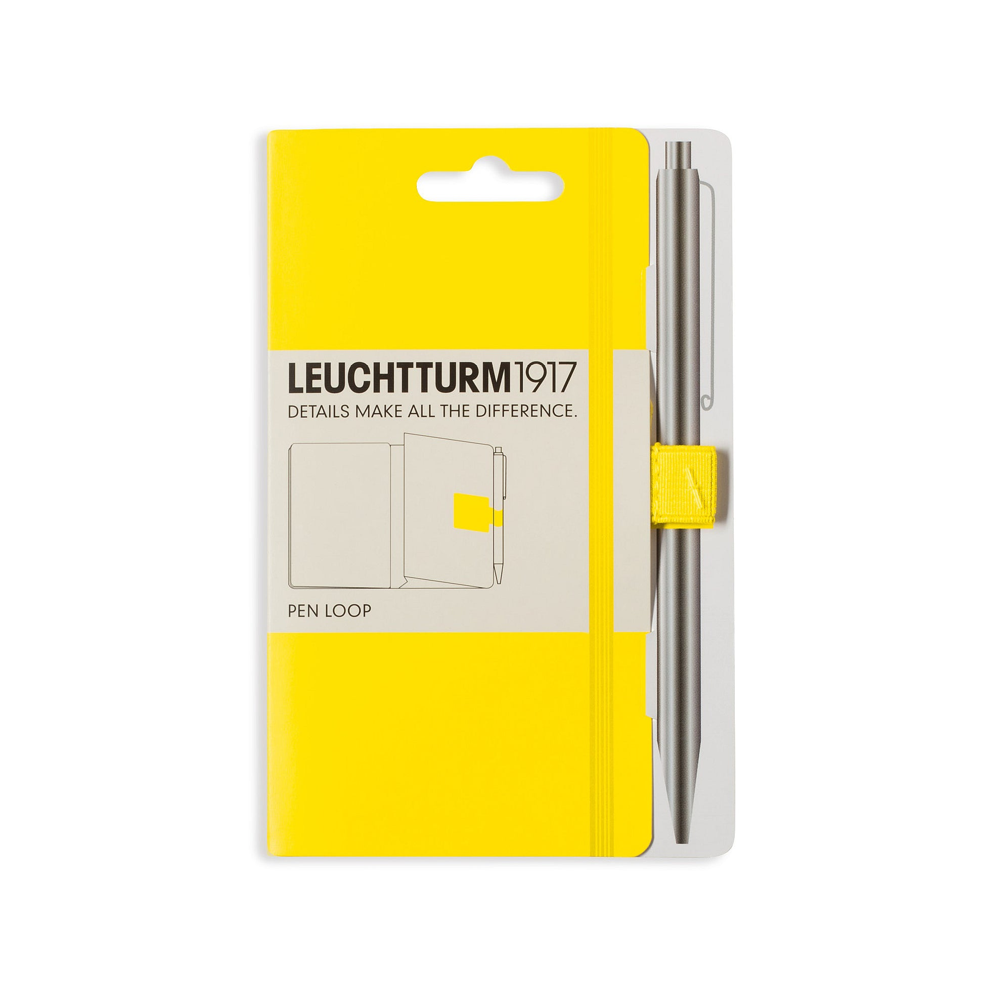 leuchtturm lemon pen loop