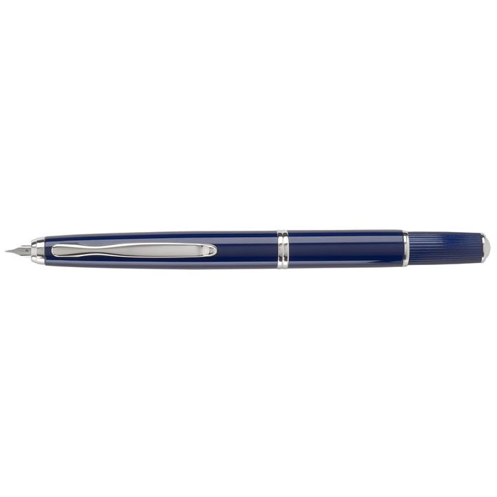 Pilot Capless Fermo Fountain Pen - Dark Blue