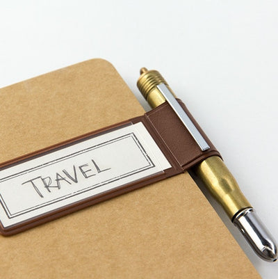 Traveler Pen Holder 024 -  Sticker -  Brown
