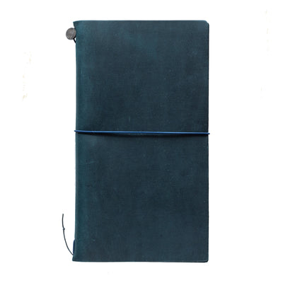 blue travelers notebook personalise