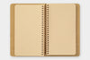 Spiral Ring Notebook - Kraft Paper - A6 Slim
