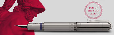 Graf von Faber-Castell Pen of the Year 2020 Ruthenium Fountain Pen