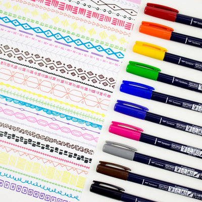 Fudenosuke Colours Set - 10 Colours