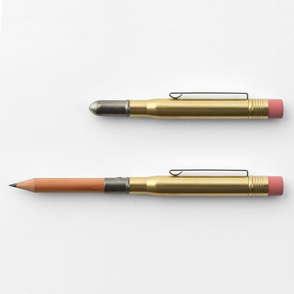 Travelers Brass Bullet Pencil