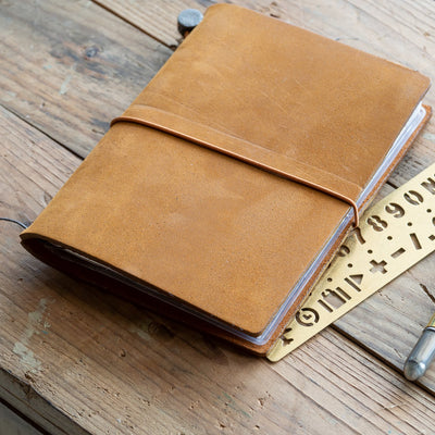 camel travelers notebook passport size