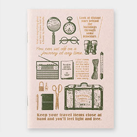 Refill Blank - Passport - Travel Tools Travelers Notebook