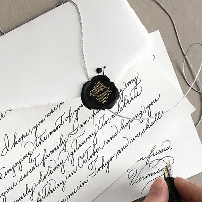 Wax Seal - Flourish by Stamptitude