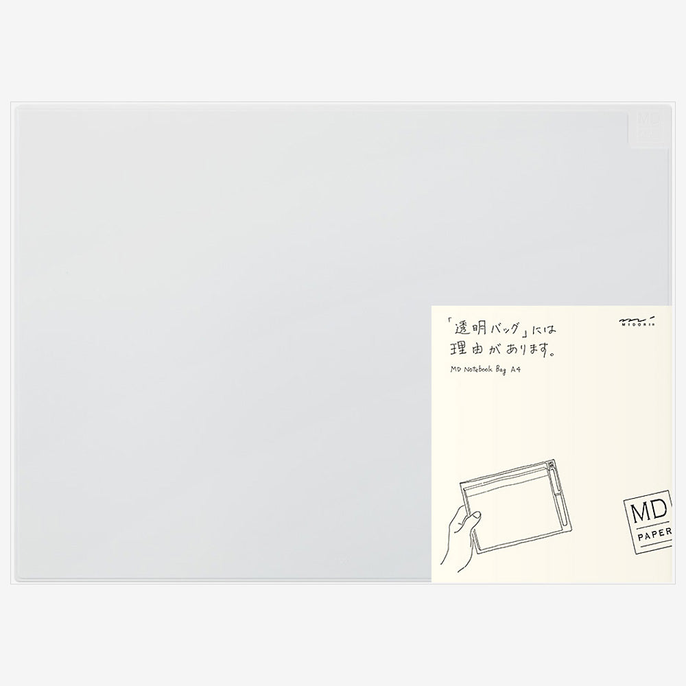 MD Clear Notebook Bag A4