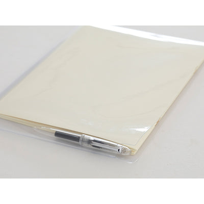 MD Clear Notebook Bag A4 + Pen Holder