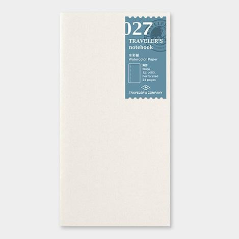 travelers notebook 027 Refill Watercolour Paper Regular Size