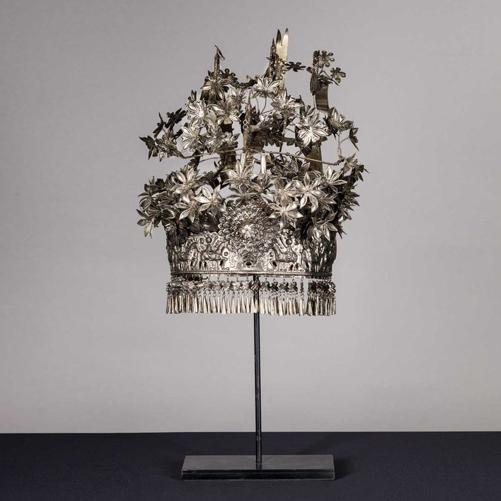 Miao headdress from Laos