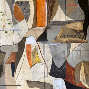 Gesira, Mixed media on board by Briata Raimondo - Fp Art Online