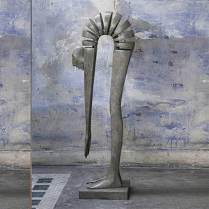Edge of the World, Bonze sculpture by Miramontes Isabel - Fp Art Online