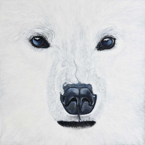 Big White, Oil painting on canvas by Chiusano Carla - Fp Art Online
