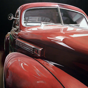 Old Front Caddy, Oil paint on canvas by Mini Daniele - Fp Art Online