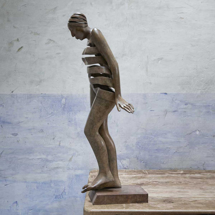 Bather, Bonze sculpture by Miramontes Isabel - Fp Art Online
