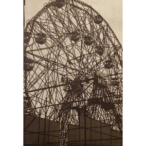 Coney Island 2, Etching print mark by Chiesi Andrea - Fp Art Online