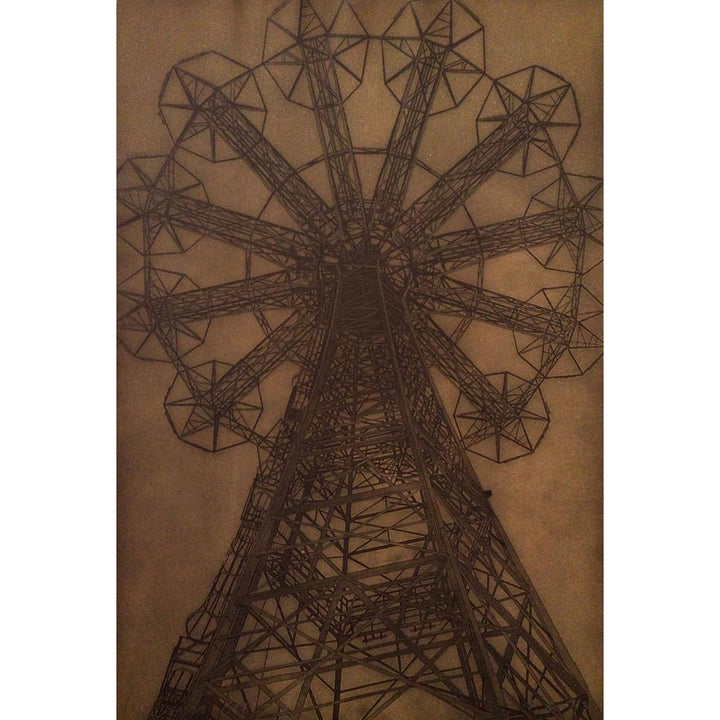 Coney Island 3, Etching print mark by Chiesi Andrea - Fp Art Online