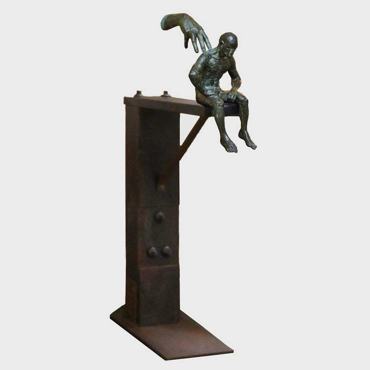 Friendship II, Bronze sculpture by Quinn Lorenzo - Fp Art Online