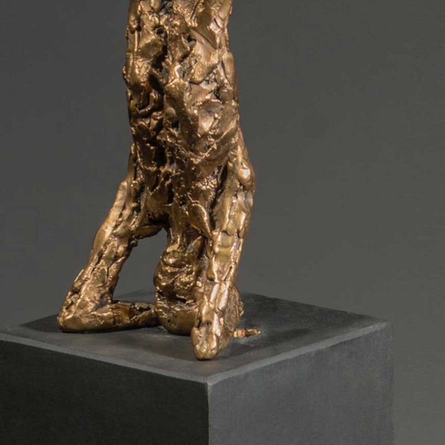 Headstand Study, Foundry bronze sculpture by O'Connor John - Fp Art Online