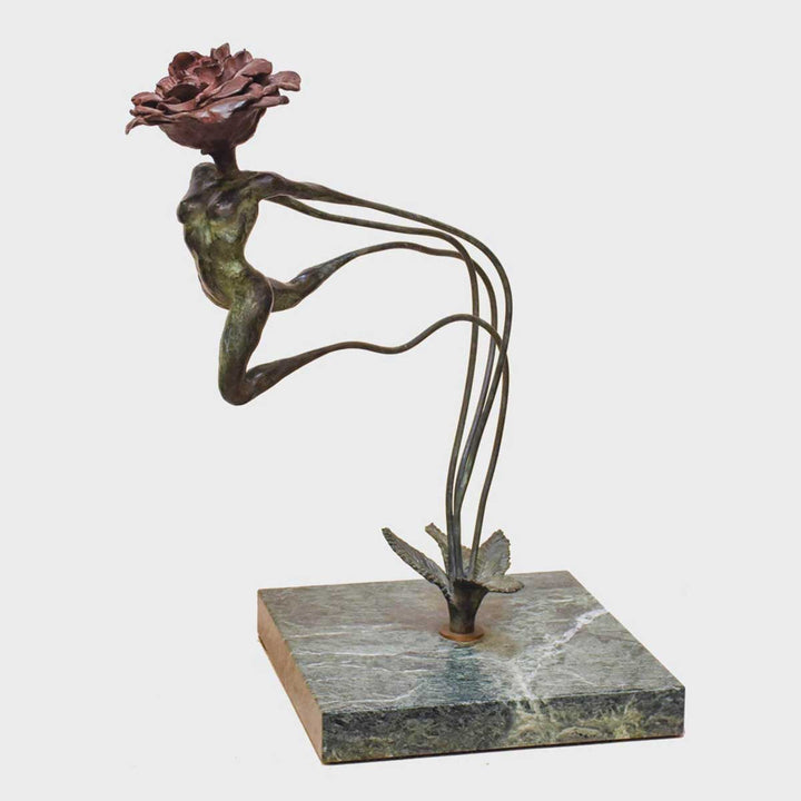 Spring, Bronze sculpture by Quinn Lorenzo - Fp Art Online