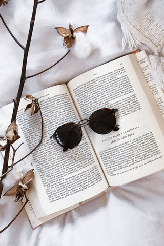 Brown Retro Sunglasses
