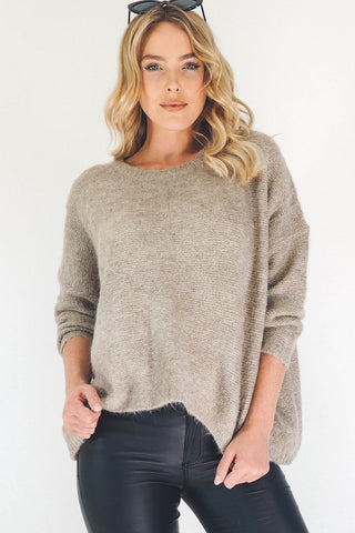 Woolly Juniper Jumper - Beige