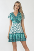 Isabella Wrap dress- Mint