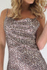 Marseille Leopard Sateen Dress