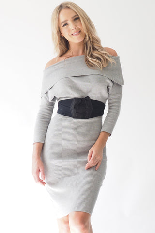 Rue de saint dress - Grey
