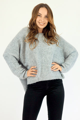 Woolly Juniper Jumper - Grey