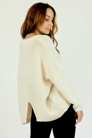 Woolly Juniper Jumper- Cream