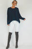 Woolly Juniper Jumper (Navy)