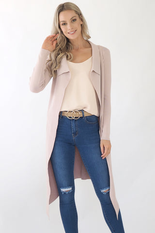 Kayla Jacket- Dusty Pink