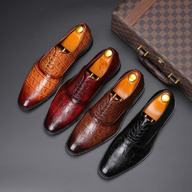 Designer Crocodile Formal Shoes
