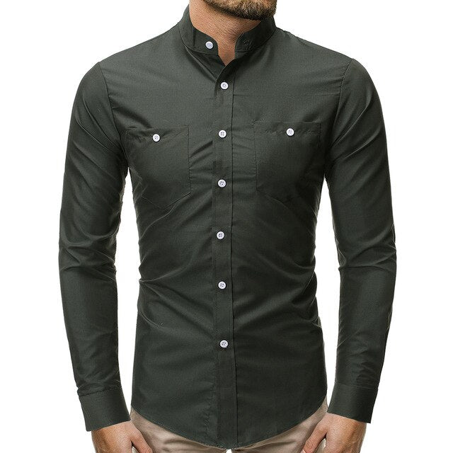 Recreational Button Long Sleeve Shirt