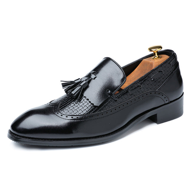 Tassel Loafers Italian Dress Shoes