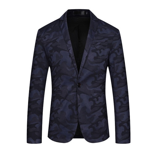 Cotton Slim Fit Business Blazer