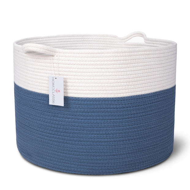 XXL Organic Cotton Rope Storage Basket