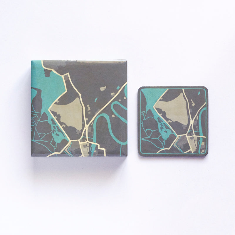 The Srinagar Collection - Coaster Set with Box