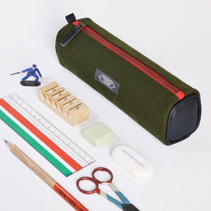 Cadet Pencil Case (Army Green)