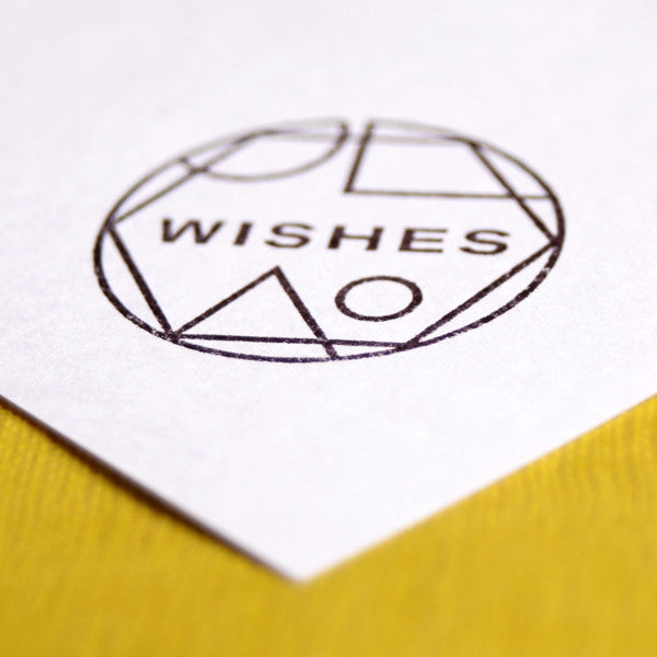 Wishes Rubber Stamp