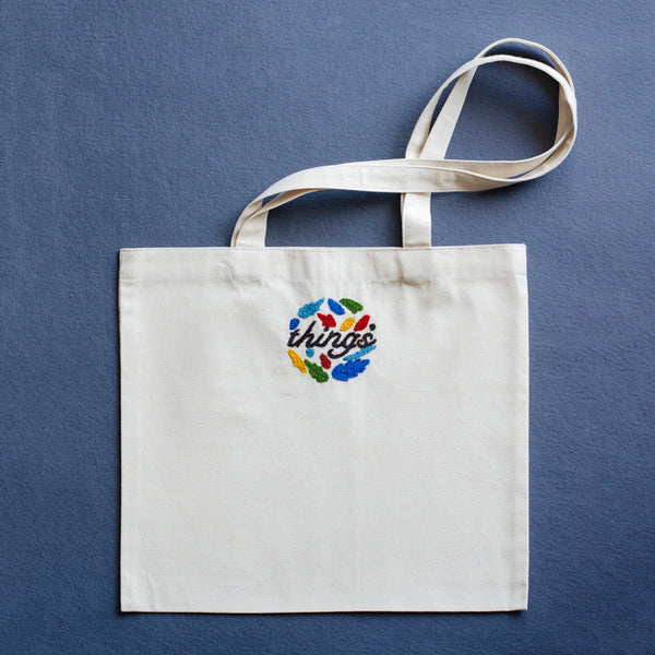 Things Tote Bag - Made in Kashmir