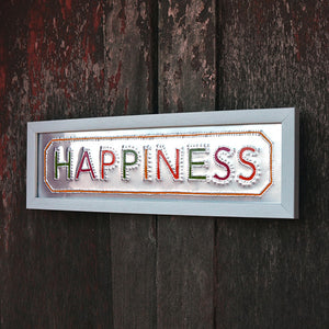 Rickshaw Art Frame - Happiness