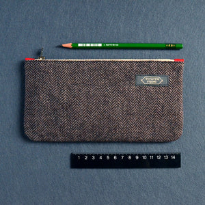 Herringbone Pouch (Brown)