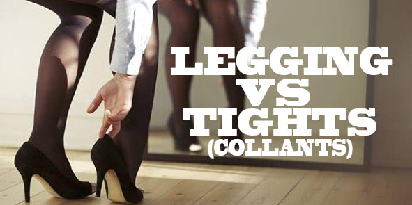 Legging vs Tights (collants) Comparatif | E-Legging